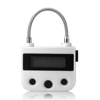 Uniwersalny zamek czasowy do kostki kajdanki knebel timer elektroniczny tanie i dobre opinie Woopower U Kształt Blokady