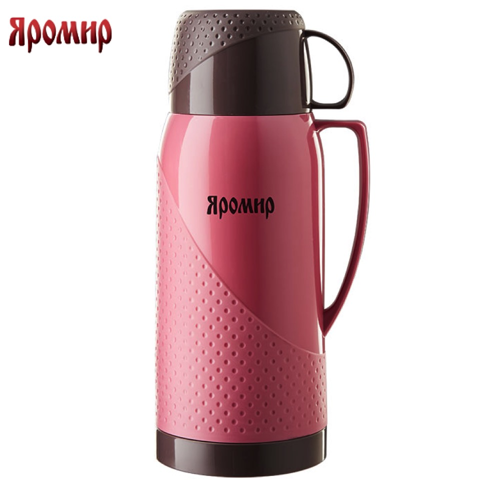 Vacuum Flasks & Thermoses Yaromir YAR-2023C/1 thermomug thermos for tea thermo keep сup stainless steel water mug food flask