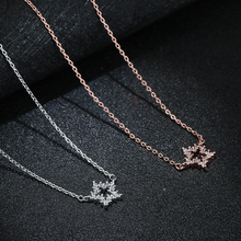New Arrivals 925 Sterling Silver Star  Necklaces & Pendants For Women Hot Fashion sterling-silver-jewelry