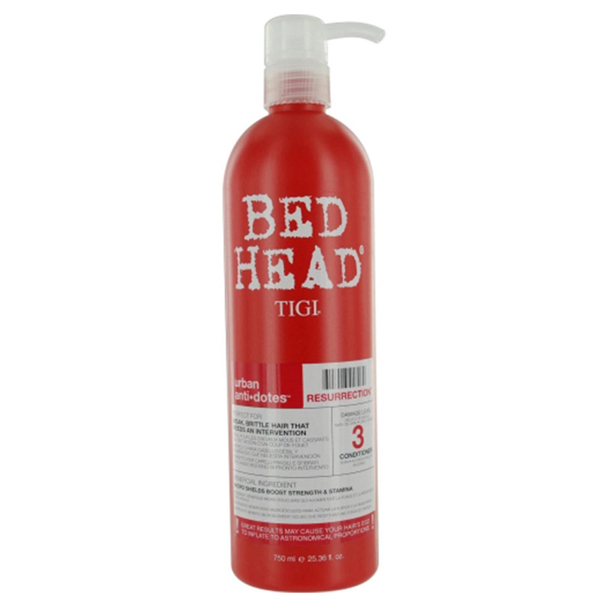BED HEAD URBAN ANTI-DOTES RESURRECTION CONDITIONER 750ML