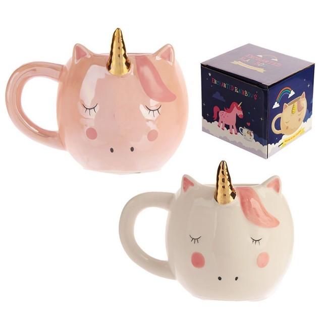 Cute Ceramic Unicorn Coffee Cup