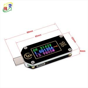 Image 5 - RD TC66/TC66C  Type C PD trigger  USB C Voltmeter ammeter voltage 2 way current meter multimeter PD charger battery USB Tester