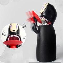 Coin  Saving Box Electronic Faceless Man Money Ghost Figure Cartoon No-face Piggy Bank Funny Gift