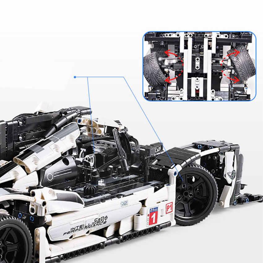 Tão Grande Super 1586pcs Blocos de Construção Do Carro 919 set Modelo Tijolo Compatível Com As Principais Marcas Série Technic Brinquedos Presente para crianças kid