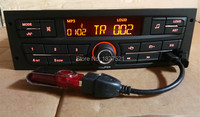 Car Audio Player MP3 Stereo FM with USB for Peugeot 207 206 301 307 308 Citroen C2 Elysee ZX C4 V W J etta Bora