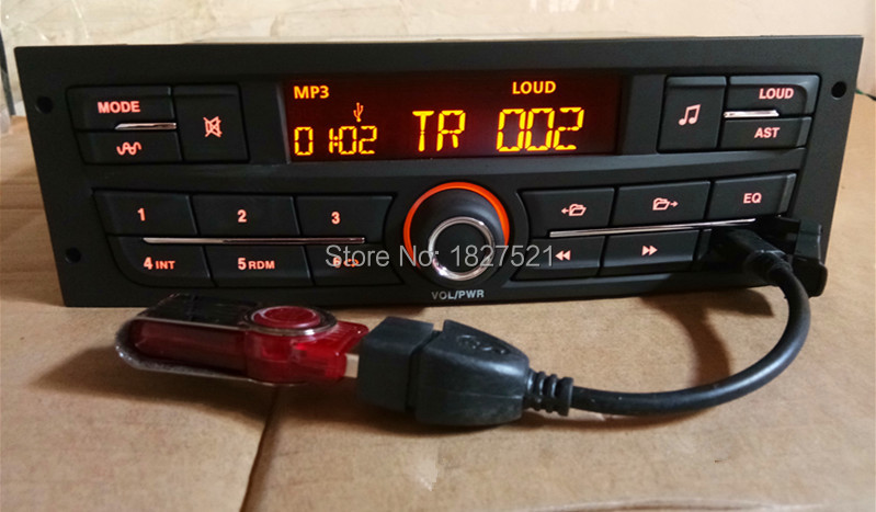 2019 Nieuwste Ontwerp Auto Audio Speler Mp3 Stereo Fm Met Usb Voor Peugeot 207 206 301 307 308 Citroen C2 Elysee Zx C4 V W J Etta Bora