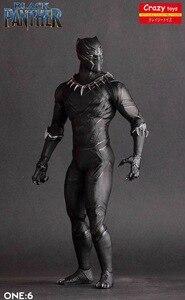 Image 2 - Crazy Speelgoed 1/6 Schaal Marvel Comics Black Panther Figurine Toy Doll Standbeeld