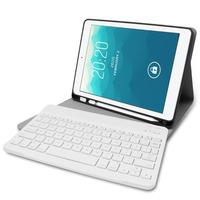 2in1 Tablets Pad Accessories With Wireless Keyboard Ultra thin Holder Bluetooth 3.0 Keyboard Case Cover for iPad Air 1/2 Pro 9.7