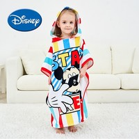 Disney Cotton Baby Bath Cloak Soft And Breathable Bath Towel Kids Cartoon With Mickey And Minnie
