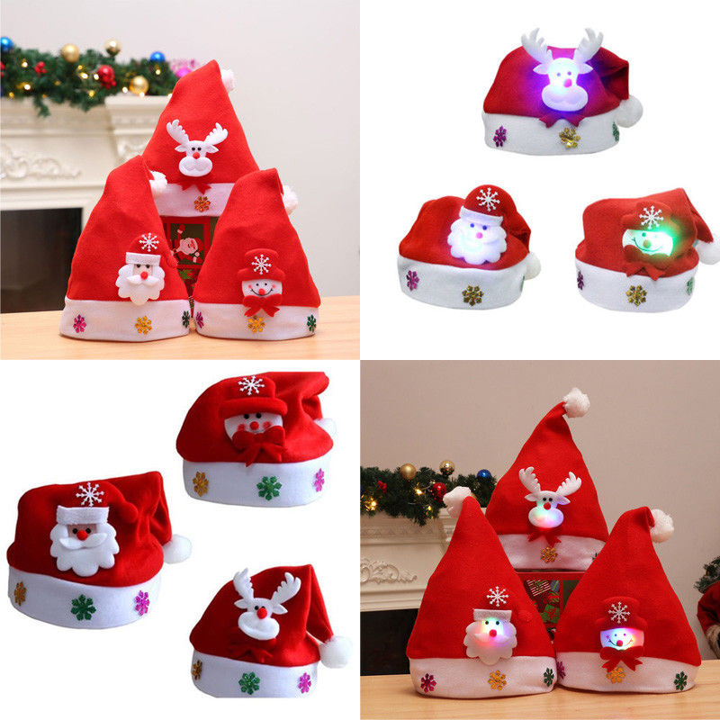 Top 9 Most Popular Christmas Hats Light Ideas And Get Free Shipping