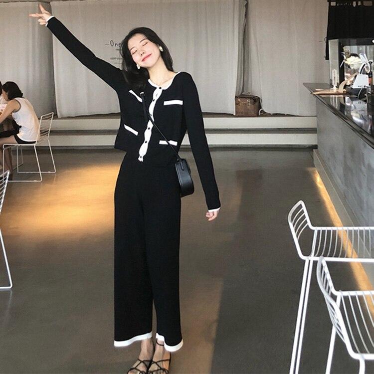 6cd430e4fd4 2 À Ensemble Robes Pièce Roulé Midi Bandage Robe Femmes Apricot Longues  black D hiver Chandail Vintage Manches Bureau Tricoté Col 4Lj5RA