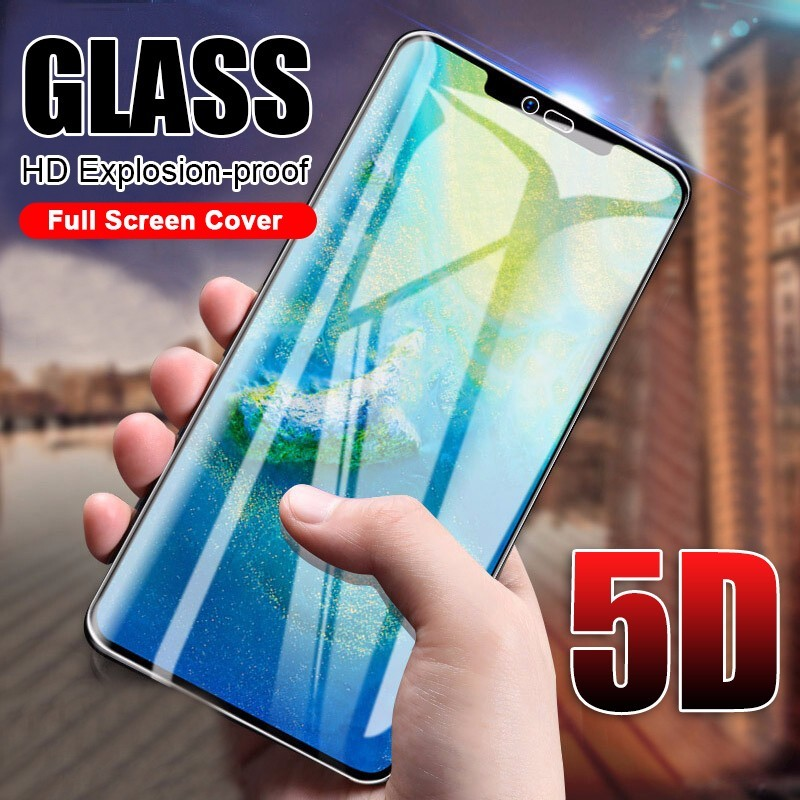 <font><b>5D</b></font> Full Cover Tempered <font><b>Glass</b></font> On The For <font><b>Huawei</b></font> Mate 20 X Lite P20 Pro Screen Protector On <font><b>Honor</b></font> 8X <font><b>9</b></font> 10 Play P Smart <font><b>Glass</b></font> Film image