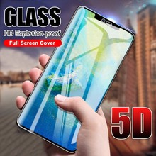 5D Full Cover Tempered Glass On The For Huawei Mate 20 X Lite P20 Pro Screen Protector Honor 8X 9 10 Play P Smart Film