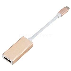 Image 4 - Loại C Adapter USB C 3.1 sang DP Nữ Displayport Thêm Bộ Điều Hợp cho Cổng DP to DVI HDMI VGA cho MacBook Laptop Máy Tính Bảng