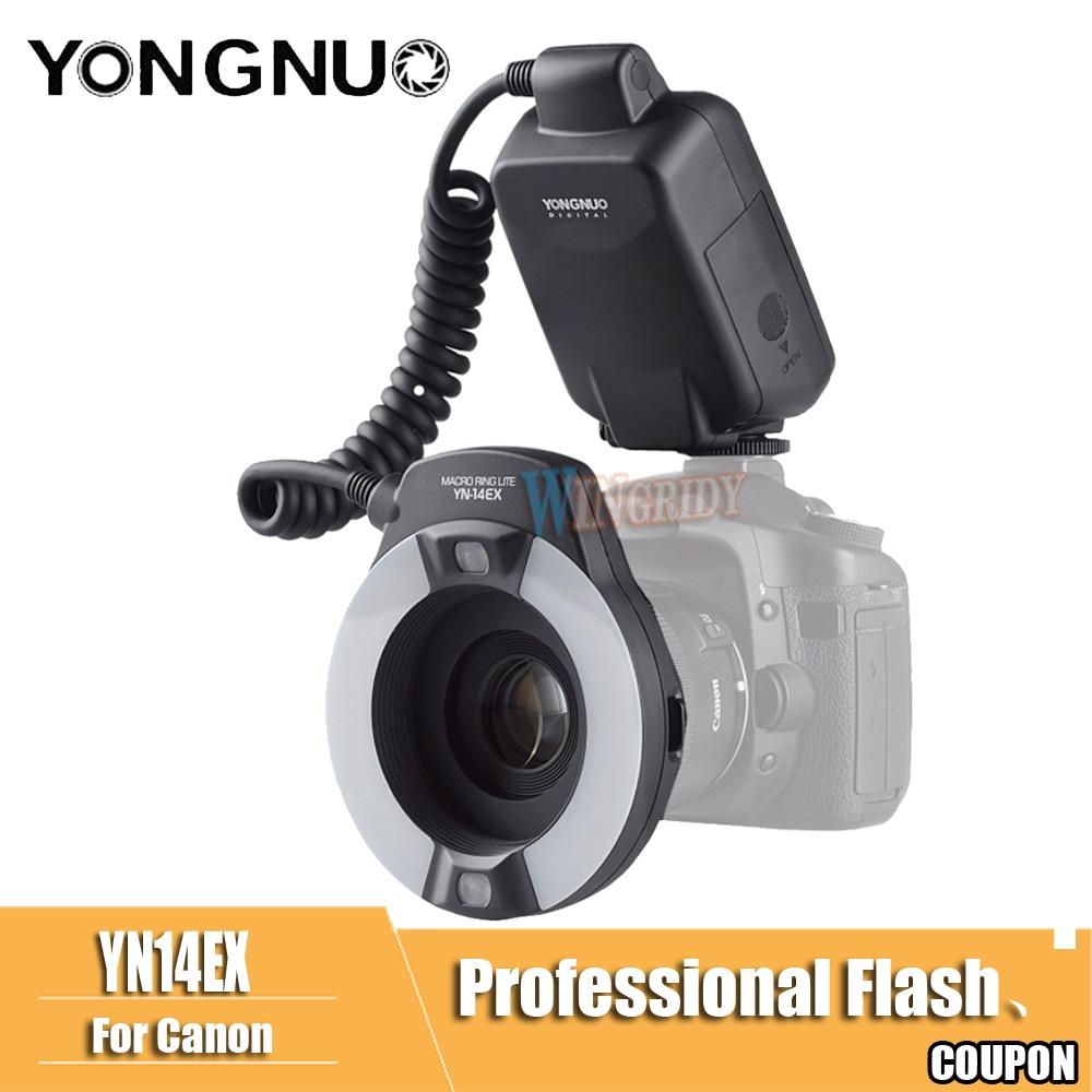 YongNuo YN-14EX YN14EX TTL Macro Ring Light Flash with Adapter Ring Speedlite for Canon DLSR 550D 650D 5Ds 5Dsr 760D 5D 750D 6DYongNuo YN-14EX YN14EX TTL Macro Ring Light Flash with Adapter Ring Speedlite for Canon DLSR 550D 650D 5Ds 5Dsr 760D 5D 750D 6D