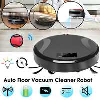 Auto Remote Floor Vacuum Cleaner Robot Smart Robotic Automatical Dust Electric Floor Sweeping Robot Vacuum Cleaner Rechargeable