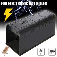 1pcs Electronic Mouse Trap Control Rat Killer Electric Rodent Pest Mice Assassin Traps Garden Supplies