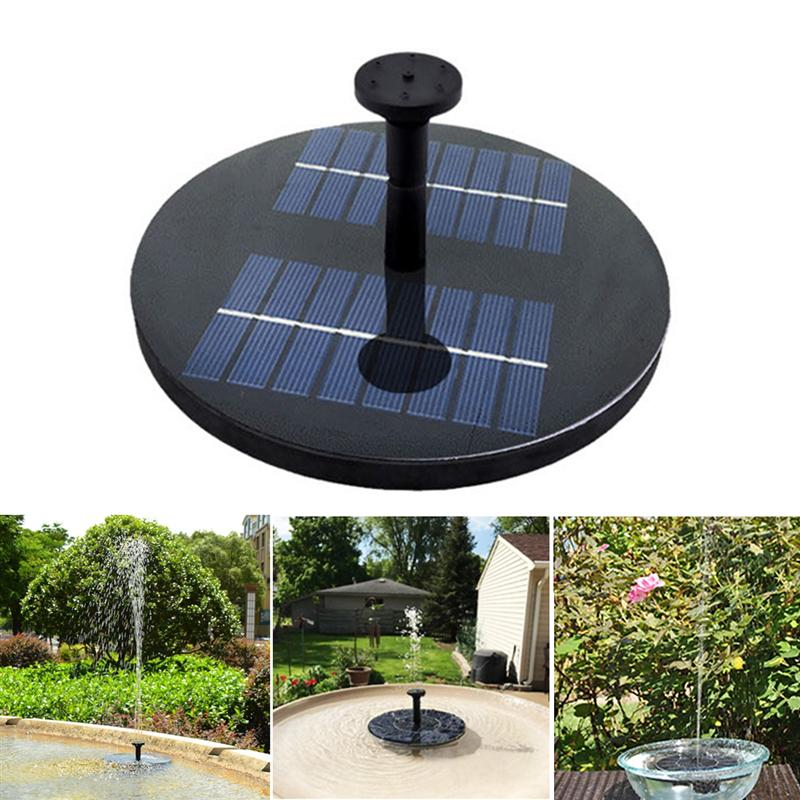 5m Hearty Solar Power Fountain Pool Water Pump Panel Submersible Watering For Garden Pool Pond Patio Decoration Lights & Lighting