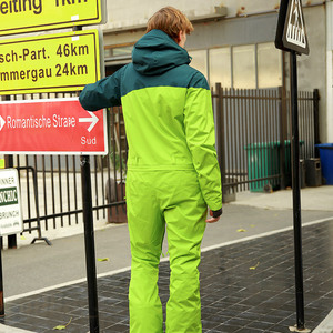 Image 3 - Fiume Che Scorre di Marca Giacca Impermeabile per Gli Uomini di Snowboard Delle Donne Del Vestito di Snowboard Giacca Maschile Snowboard Set Abbigliamento # B8095