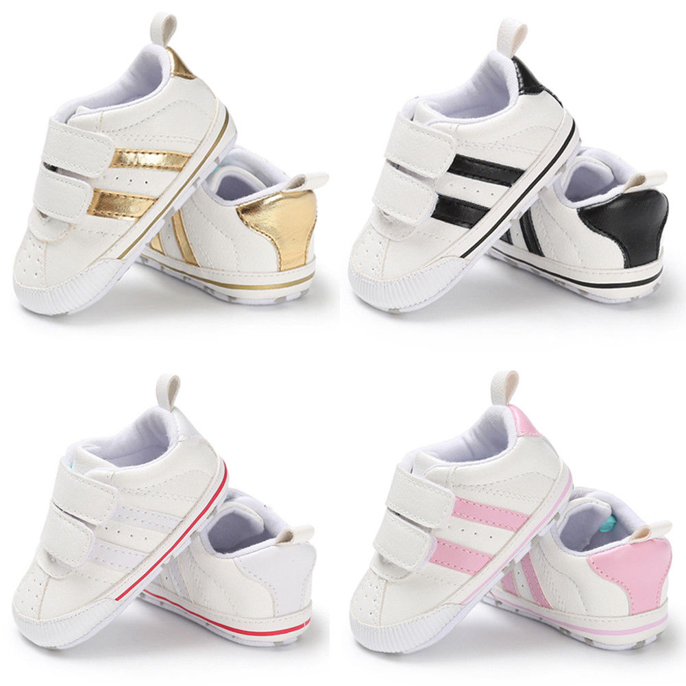 Pudcoco Baby Shoes Infant Toddler Baby Boy Girl Soft Sole Crib Shoes Sneaker Newborn To 18 Months