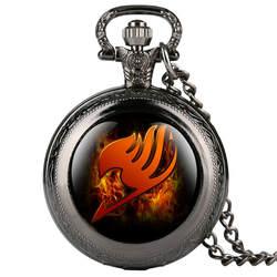 Reloj Mujer модные карманные часы для малыша мультфильм Fairy Tail узор карманные часы для девочки креативные кварцевые карманные часы ретро