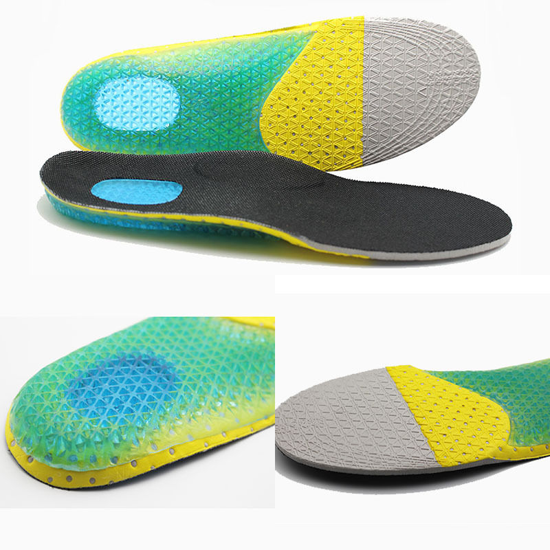 Men Women Gel Orthotic Sport Insoles Inserts Shoe Pads Arch Support Cushion