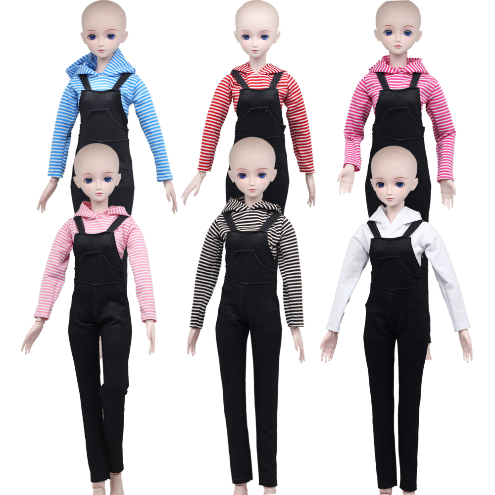 NEW 60cm 1/3 BJD Dolls Clothes Shirt&Pants Toys Accessories Suit Dress Girls Toys Gift