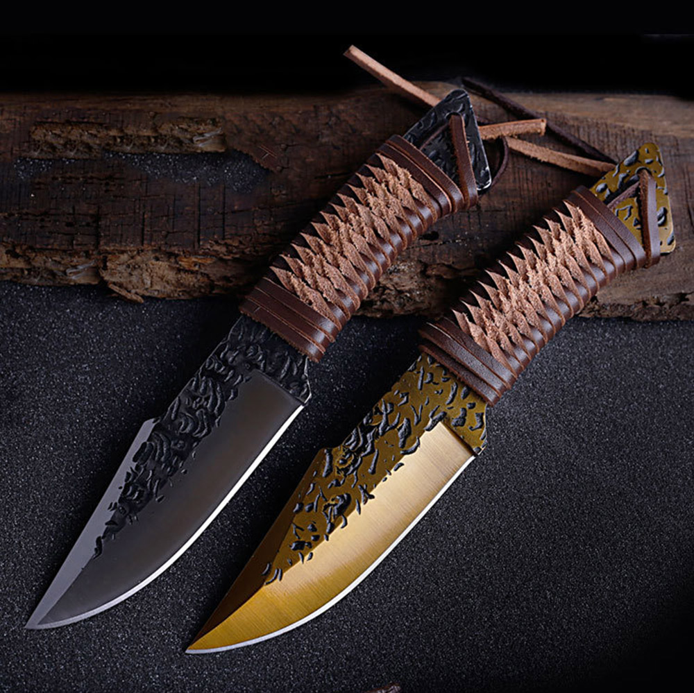 OWL OD205  High Hardness Tactics Knife Camping Knifes Practical Handle Fixed Blade Knives Hunting Outdoor Combat Survival