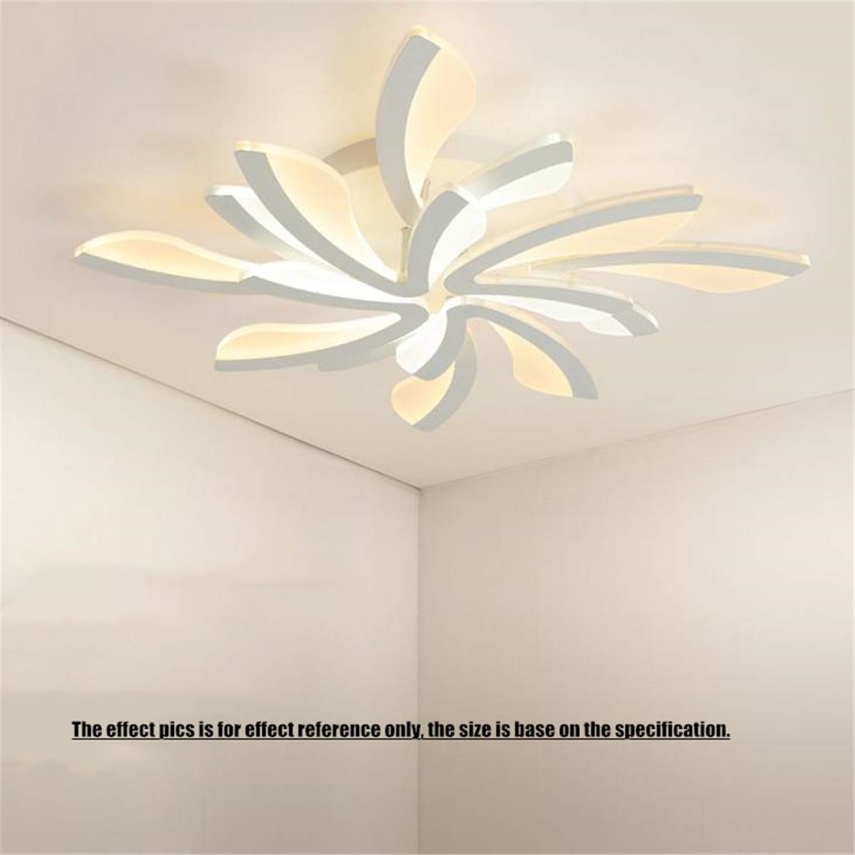 Acrylic Modern 8 Heads LED Ceiling Lights for Living Room Bedroom Dining Room Home Decor Ceiling Lamp Lighting Light FixturesAcrylic Modern 8 Heads LED Ceiling Lights for Living Room Bedroom Dining Room Home Decor Ceiling Lamp Lighting Light Fixtures