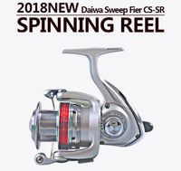 Daiwa spinning wheel Dawa fish reel metal wheel with straight handle fishing rod Sweepfire