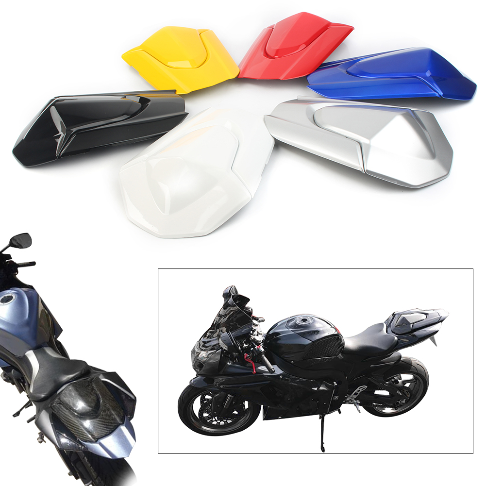 Motorcycle Rear Passenger Seat Cowl Back Pillion Covers Protection abs For <font><b>Suzuki</b></font> GSXR1000 <font><b>GSX1000R</b></font> GSXR 1000 2009-2016 K9 image