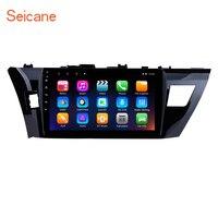 Seicane 2Din 4 Core Android 7,1 10,1 Car радио для 2013 2014 2015 Toyota Corolla мультимедийный плеер Поддержка видеорегистратор связь с зеркалом