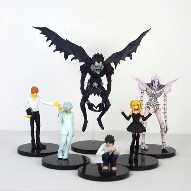 "New Anime Death Note Figure Toy Ryuk Ryuuku Rem 15cm/6"" PVC Action Figure Collection Model Toy Loose New Kids Gift Doll Statue"