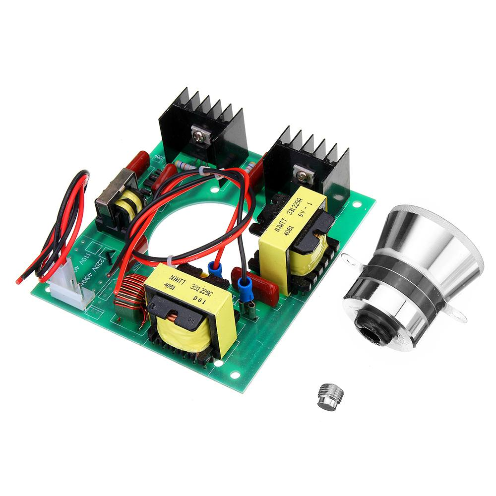 220V 50W Ultrasonic Generator Power Supply Module + 1pc 40KHZ Ultrasonic Transducers Vibrator-in Ultrasonic Cleaner Parts from Home Appliances