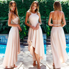 8b921136b67cc Compare Prices on Long Prom Dress Halter Top- Online Shopping/Buy ...