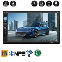 Hot sale 2 din Car Radio 7 HD Autoradio Multimedia Player 2DIN Touch Screen Auto audio Stereo MP5 Bluetooth USB TF FM Camera