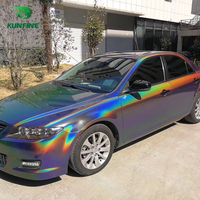 Car Styling Wrap Splendid gray Car Vinyl film Body Sticker Car sticker With Air Free Bubble For Motorcycle Car Tuning Part