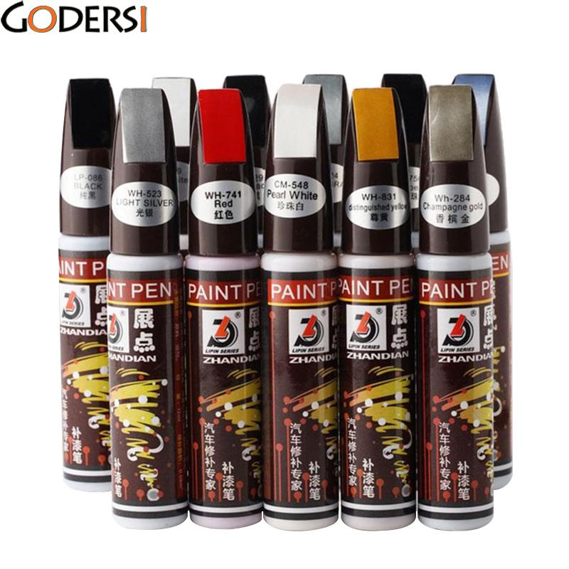 Godersi 11 Colors Auto Car Coat Paint Pen Touch Up Scratch Clear Repair Remover Remove Tool BPW5442