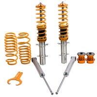 Suspensão do coilover para o suporte do amortecedor de vw golf mk4 98 05|Amortecedores e suportes| |  -