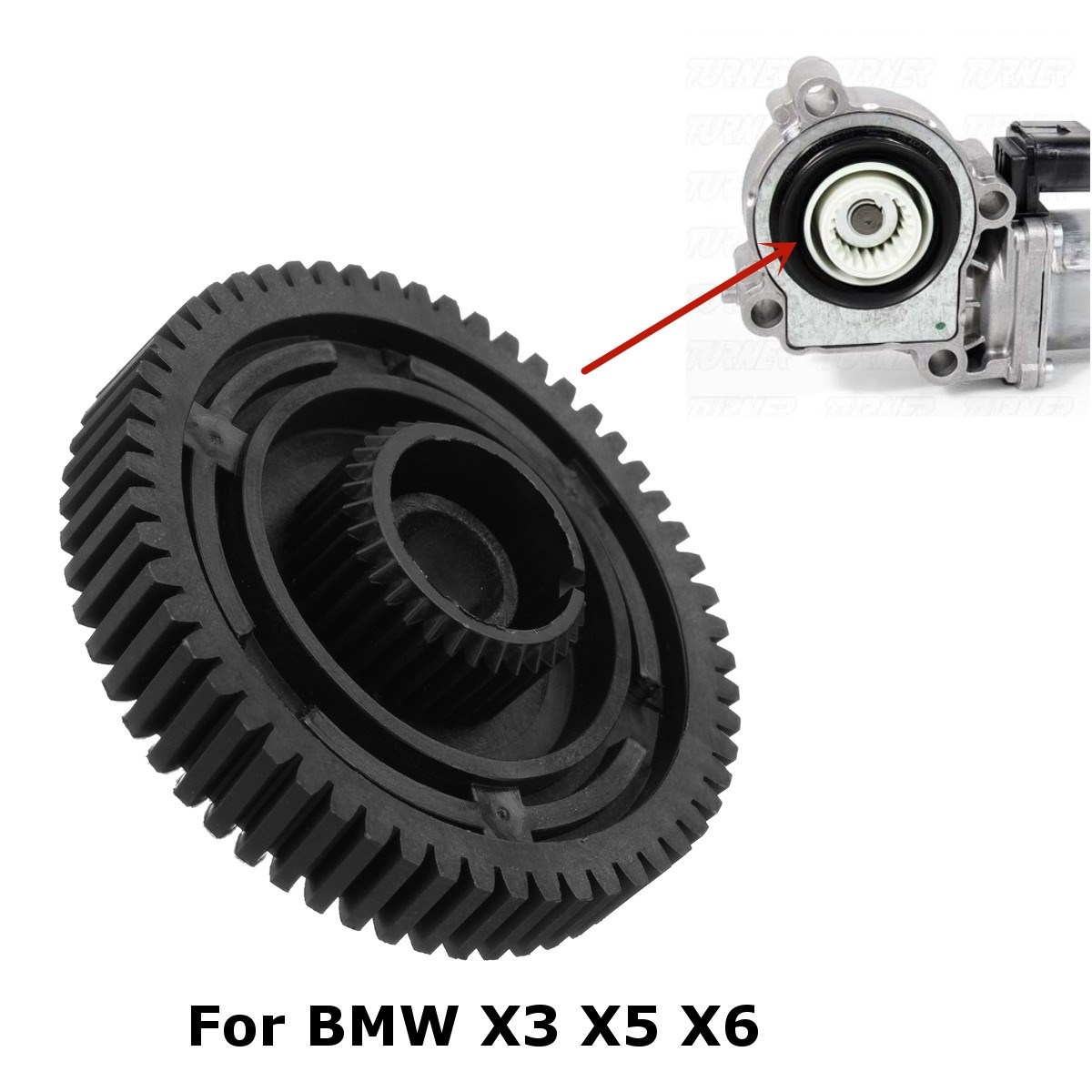 27107566296 Caso De Transferência Do Motor Caixa de Velocidades Servo Atuador Do Reparo Do Carro Para BMW X3 X5 X6 E83 E53 E70