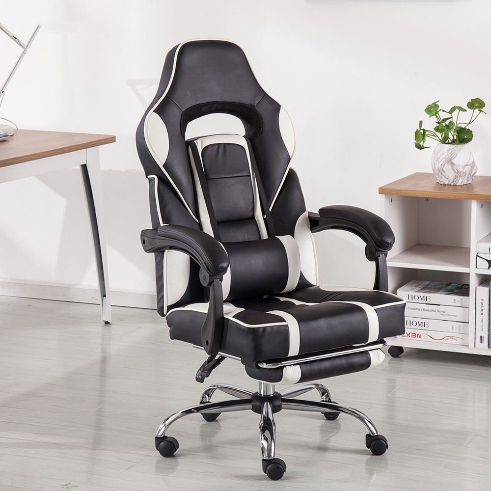 Купить с кэшбэком High Quality Wcg Chair Mesh Computer Chair Lacework Office Chair Lying And Lifting Staff Armchair With Footrest