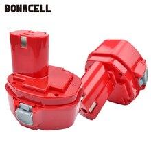 Bonacell 14.4V 2000mAh Rechargeable Battery Cordless Drill For Makita PA14 1420 1422 1433 1434 1435F JR140D 192699-A L10 цена и фото