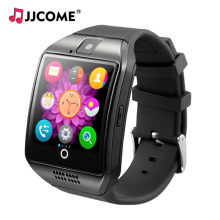 Q18 Smart Watch Men Clock SIM Card TF Bluetooth Phone Sport Watches PK DZ09 Q9 B57 Smartwatch For Mi iPhone Android