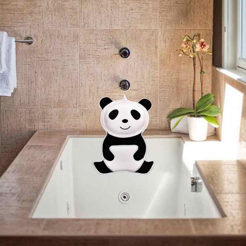 3D панда-образная детская подушка для ванной для взрослых, нескользящая сильная присоска, домашний спа-подушка, поддержка головы и шеи, спины и плеч