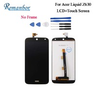 Remanbor For Acer Liquid Z630 LCD Display and Touch Screen 5.5'' For Acer Liquid Z630 Assembly With Tools And Adhesive Tested