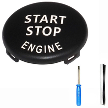 Engine Start Stop Switch Button Cover For BMW E60 E70 E90 E92 E93 3 Series Engine Start Stop Switch Button Cover + Tool