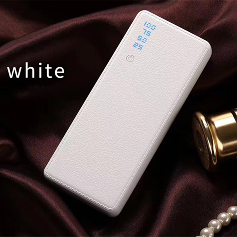 Hot Sale 10000 Power Bank External Battery PoverBank 3USB LCD Powerbank Portable Mobile Phone Charger For Xiaomi iPhone7