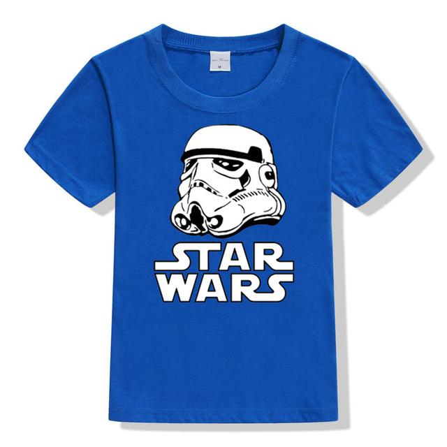 2017 movies Star Wars children boys t shirt kids Star Wars Printed shirt kids clothes boys t-shirt top children clothing enfant