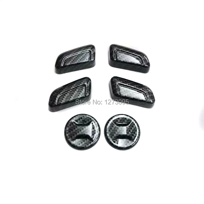 цена на For 2014-2018 Volkswagen Vw Golf 7 ABS Seat Adjust Switch Button Knob Cover Trim Interior Car Accessories