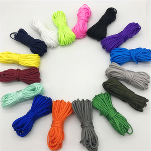 5yards 4mm Paracord 550 Parachute Cord Lanyard Rope Mil Spec Type III 7 Strand DIY Bracelet Accessories